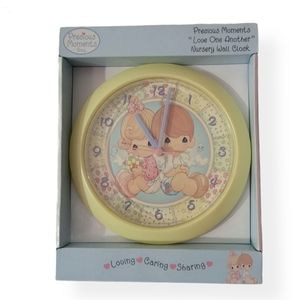 Precious Moments Nusery Wall Clock New in Box